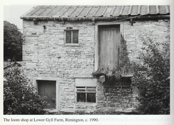 Weaving shed at Lower Gills c 1990