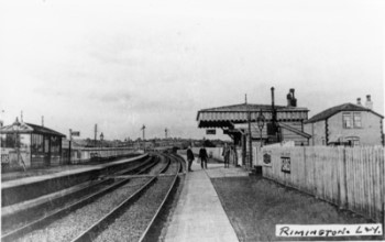 5a Lancs Yorks railway station then